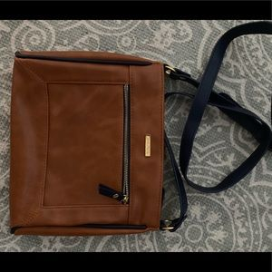 Nautica faux leather crossbody bag